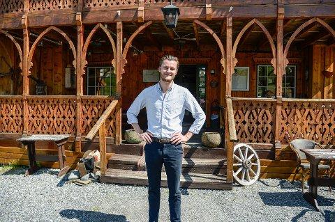 OPEN KVAR DAG I SOMMAR: Aktivitetar i fjellheimen dreg overnattingsgjester til Filefjellstuene denne sommaren, der Petter Rødseth held ope kvar dag med fleire nyhende på menyen.