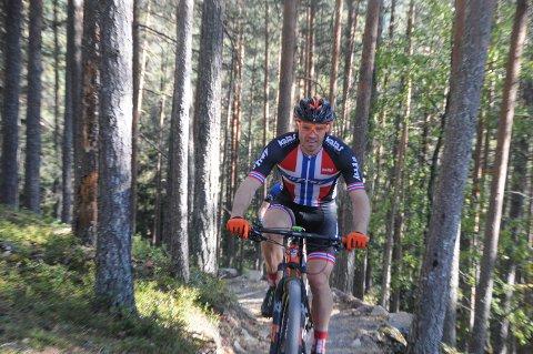 Nær pallen: Etnedølen Jonas Nermoen syklet meget sterkt i helgas birkebeinerritt da han ble nummer fire i menn 35-39 år.