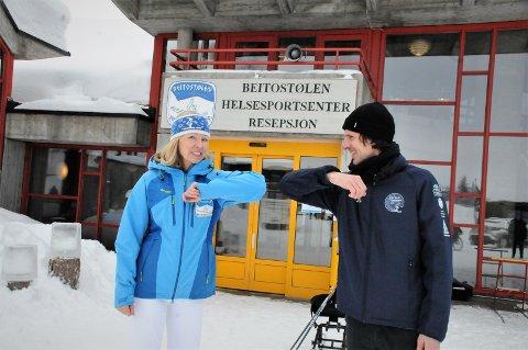 Avtale: Avtalen mellom helsesportssenteret og Para-VM på Lillehammer i 2022 ble undertegnet fredag, og det ble utført av direktør Astrid Nyquist og ola Keul, daglig leder for para-VM.