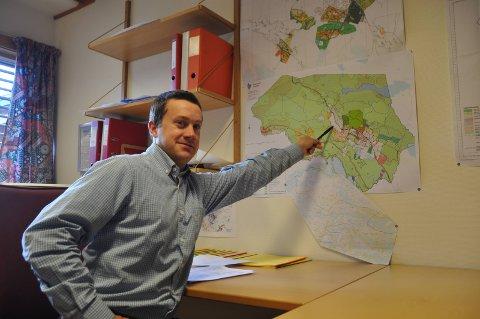 Søkjar: Heile tjue søkjarar er det til stillinga som avdelingsingeniør i Vang. Gunnar Kværne Amundsen (39), som arbeider på Tingvang i Øystre Slidre, er ein av dei.