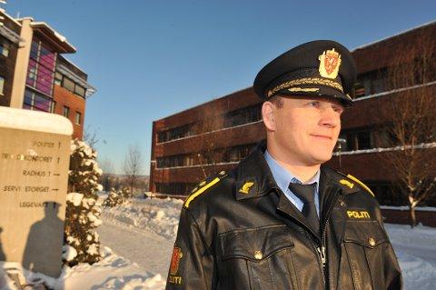 FYLLEKJØRING: Lensmann Bjørn Bratteng opplyser at politiet har tatt hånd om en polakk som fyllekjørte i Hakadal.
