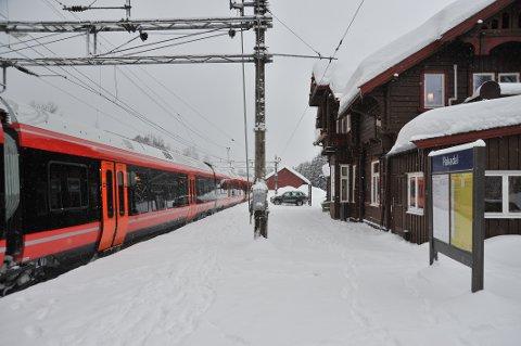 FORSINKELSER. Noen forsinkelser ble det i kjølvannet av togstansen på Østlandet.