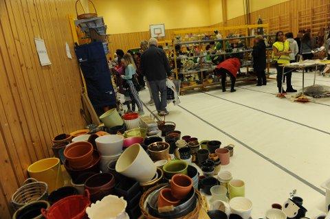 LOPPIS: Nittedal desidert største loppemarked går av stabelen på Ulverud skole i helgen (Arkivfoto).
