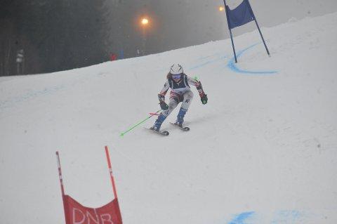 MÅL OM PALPLASS: Malin Sofie Sund forteller at hun har et mål om å stå på pallen i ett av rennene i Ungdoms-OL.