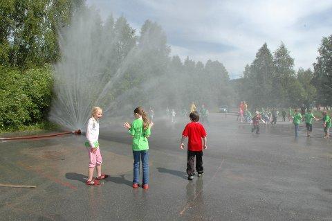 NEI: Slik unødvendig bruk av vann må det nå bli slutt på, formaner vannsjefen i Nittedal, Bjørn Rønholt.