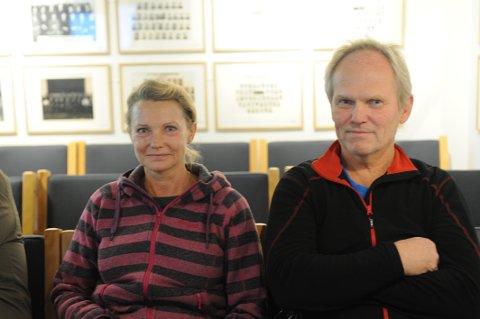 BOLIGDRØM: Etter mye om og men fikk omsider Unni Pettersen og Lasse Karlsson tillatelse de trenger til å bygge drømmehuset sitt i Nittedal.