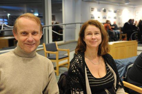 Miljøpartiets Anne Hilde Røsvik og Vidar Myhre er par i hjerter og par i lokalpolitikken.