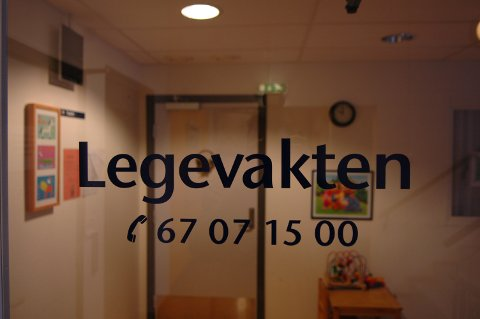 LEGE FIKK KRITIKK: En lege på vakt ved Nittedal legevakt har fått lett kritikk av Fylkesmannen i Oslo og Viken etter at en pasient ble sendt til KAD og ikke sykehus.