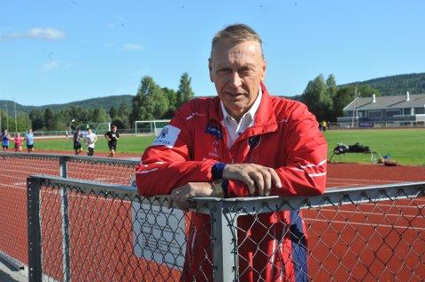 VÆRT MED I 22 ÅR: Petter Wessel kom med i friidrettsgruppa i 1997, og har ikke sett seg tilbake siden da.