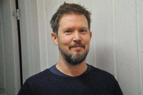 LEDER GRUPPA: Joar Hugaas er leder for den nye skøyte- og ishockeygruppa i Nittedal Idrettslag.