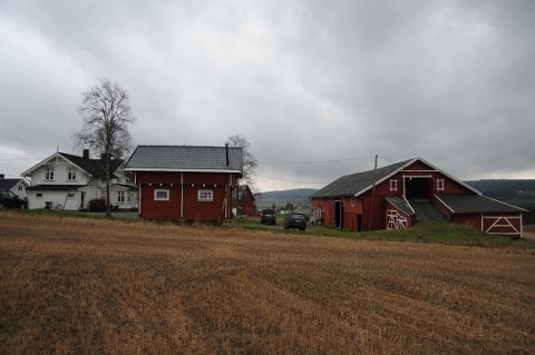 SATSERPÅHEST:Ramstad gård har tradisjoner for hestehold, men Landbrukskontoret er skeptisk til at dyrket mark omdisponeres for å anlegge en ridehall med mer.