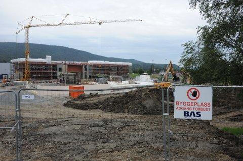 DYRERE: Nye Nittedal ungdomsskole synes å bli dyrere å ferdigstille enn første antatt.