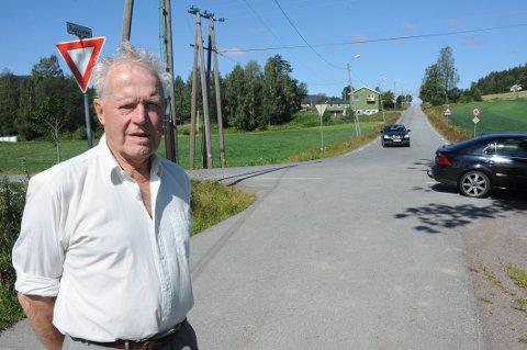 MANGE MENINGER: Svein Kristoffersen skaper debatt med sitt innlegg om Korsvei-krysset.
