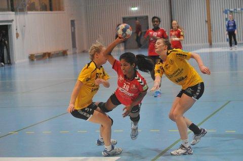 ÅTTE MÅL: Sanchu Jeiharan ble toppscorer for Nit-Hak med åtte mål mot Kjelsås.