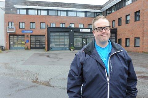 Fremskrittspartiets ordførerkandidat, Helge Fossum.