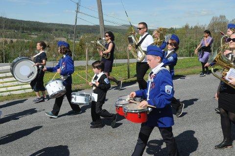 EN AV SJU: Hakadal Skolekorps er en av de sju lokale foreningene i Nittedal som mottar 30.000 kroner i breddestøtte fra SpareBankstiftelsen Jevnaker Lunner Nittedal.