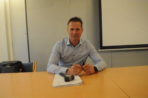 NY LEDER: Erik Cronblad Wollan ble valgt til ny leder i Nittedal Idrettslag på onsdagens årsmøte.