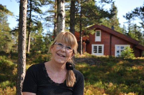 ANNO 2009: Faren hennes skaffet hytte på Holterkollen og i 2009 overlot Aud hytta til datteren, mens hun selv overtok en nabotomt.