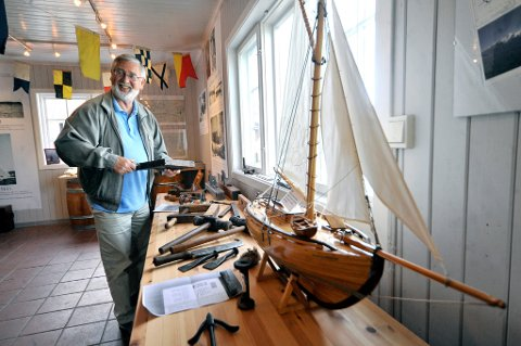 1941-2021: Birger Hekkelstrand døde 22. april 2021, 80 år gammel. Her fra Son kystkultursenter, som betydde så mye for han.