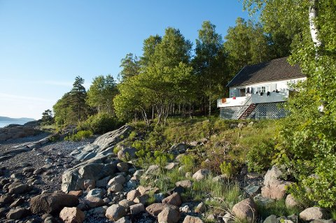 RÅTTENT TAK: Svartåshytta ligger ved Krokstrand i Vestby kommune. Hytta har 3 soverom med totalt 8 sengeplasser
