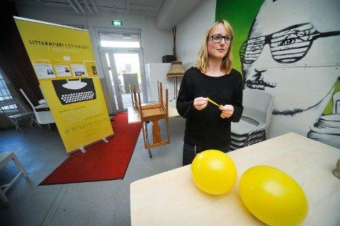 Bibliotekssjef Linda Rasten.