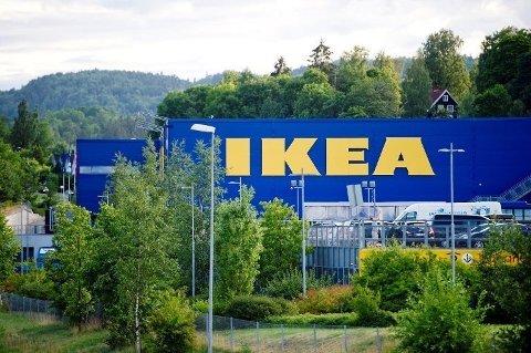 BYGGER: Dersom alt går etter planen skal IKEA starte byggingen av sitt nye sentrallager i Vestby tidlig i 2019.