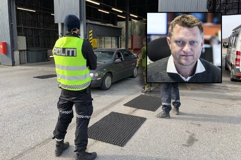OVERNATTING: Håvard R.F. Johansen vil reise over grensen for å vedlikeholde hytta, men rekker ikke gjøre alt på én dag. Nå ønsker han at myndighetene åpner for overnatting.