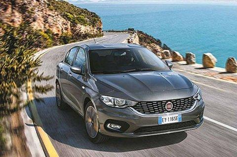 ÅRETS BESTE: Vinneren av Autobest 2016-prisen som «Årets beste bilkjøp» ble Fiat Tipo.