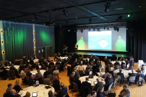 KONFERANSE: Årets partnerskapskonferanse i regi av Verdiskapning i Vestfold åpnet i dag torsdag.