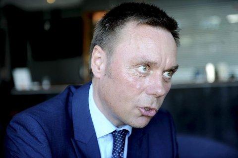 IKKE BEKYMRET: Hotelldirektør Øyvind Hagen er ikke bekymret for utviklingen i reiselivsbransjen i 2016.