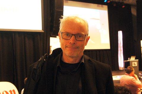 MÅ HA OMSTILLING I RYGGRADEN: Rådgiver Anders Føyen i Microsoft Norge viser til at om omstilling først blir et tema når det er nødvendig, vil man bli hengende etter i utviklingen.