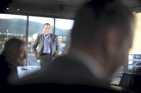 Lønnsbyks: Lønnshoppet til norske mellomledere må sees i sammenheng med året før, da det var negativ lønnsvekst, sier Jan Olav Brekke, forbundsleder i Lederne. Foto: Lederne