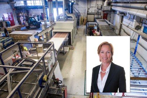 BLIR NY ADM. DIR.: Janne Stenehjem har vært konstituert administrerende direktør i Steni siden november. Nå har hun blitt ansatt i stillingen.