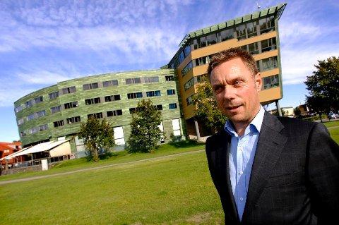 PÅ UTKIKK: Hotellsjef ved Quality Hotel Tønsberg, Øyvind Hagen, leter etter gode og bærekraftige matideer.