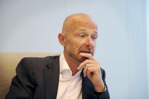 BOSTYRER: Advokat Tor Erik Heggøy er så vidt igang med å gjennomgå boet til Rastena Bygg AS.