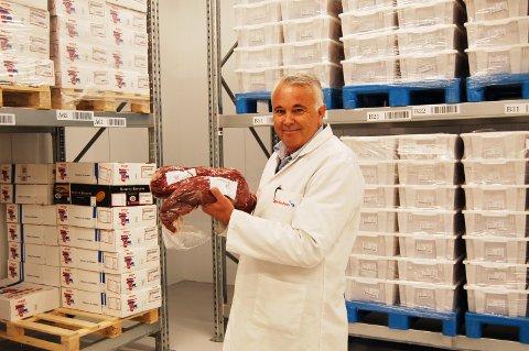STOR VEKST: Daglig leder og gründer hos Julies Kjøkken AS forteller at de har hatt stor vekst i løpet av kort tid med leveranse av kjøttprodukter.