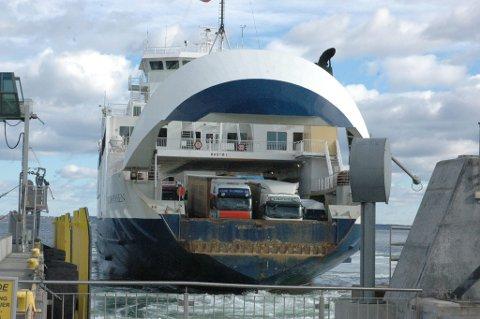 ØKER: Lastebiler og vogntog øker mest.