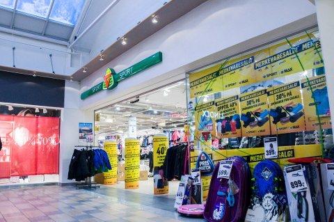 G-MAX TIL VESTFOLD?: G-sport på Nordbyen er den siste blant flere omstruktureringer av G-sport butikkene i Vestfold.