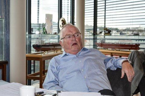 TAPER: Herbjørn Hansson og sønnen har tapt hundrevis av millioner de to siste årene.