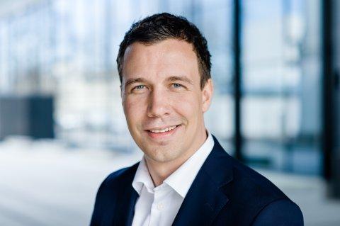 NY MANN: Tønsbergmannen Øystein Harkinn er ansatt for å sikre JM flere tomter i Vestfold.