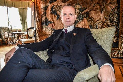 UTVIDER: Konserndirektør Morten Christensen i Unike Hoteller har kjøpt sitt niende hotell og har allerede begynt på det tiende.