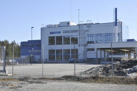 Vistin Pharmas fabrikk på Fikkjebakke i Sannidal.