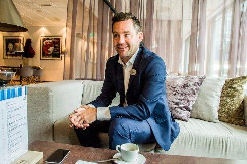 NY JOBB: Andreas Nilsson var direktør for Farris Bad i fem år. Nå har han startet for seg selv, og hans første oppdrag er å bidra til å utvikle Grandkvartalet.
