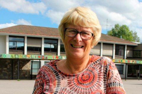 Dal-rektor, Linda Langås Vamnes, ser fram til å bruke det nye systemet, og tror det vil føre til mindre glemte informasjonsskriv i skolesekkene. ARKIVFOTO: Marianne W. Rom