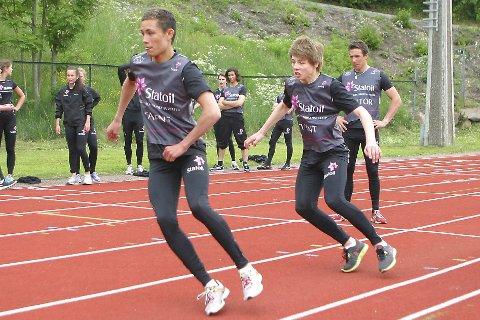 Talenter: Phillip Sjøen og Mats Søhagen Berggaard var deltakere på samlingen Team Morgendagens Helter i 2012. Blant instruktørene var Eldar Rønning, som vi ser bak Søhagen Berggaard.arkivfoto: torbjørn larsen