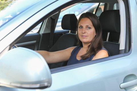 Ellen Paulsen engasjerer seg sterkt i trafikksikkerheten i Frogntunnelen.