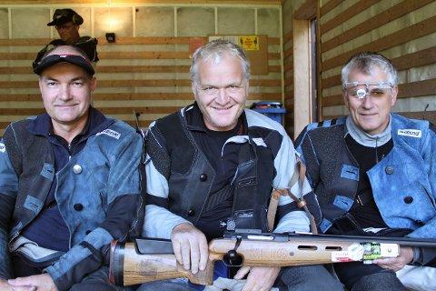 Fra venstre: Odd Petter Nythe, Erik Berntsen og Kay Pettersen.