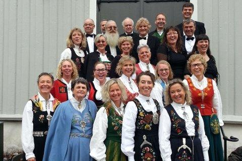 Drøbak kantori har sunget julekonserter i flere år. Her fra 2013.