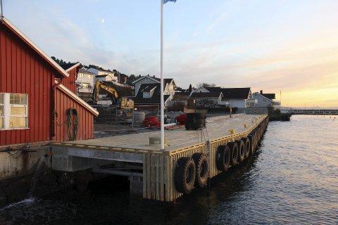 Sjøtorget: 14 millioner er brukt på å sette i stand Sjøtorget, som nå får mulighet til å ta imot cruisebåtturister.Foto: Ole Jonny Johansen
