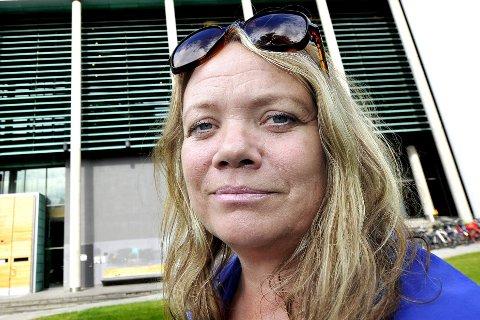 Demokratiutvikler: Camilla Sørensen Eidsvold jobber som demokratiutvikler i Fredrikstad kommune, og har jobbet med innbyggerinvolvering i mange år.Foto: Trond Thorvaldsen